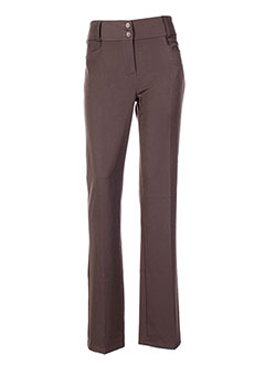LE PHARE DE LA BALEINE Pantalon MARRON Pantalon citadin FEMME (photo)