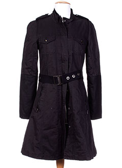 PEPE JEANS Manteaux NOIR Manteaux long FEMME (photo)
