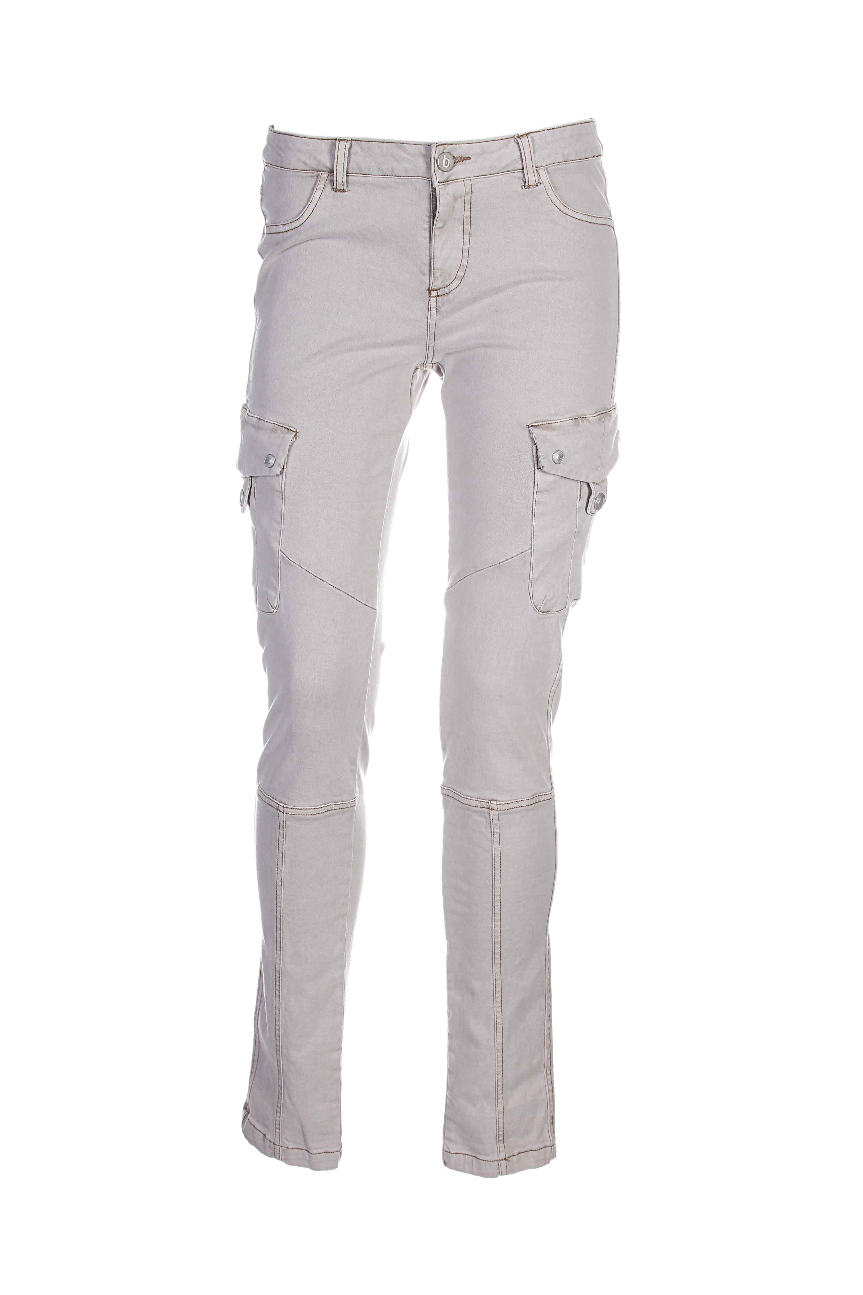 B.YOUNG Jean BEIGE Jean coupe slim FEMME (photo)