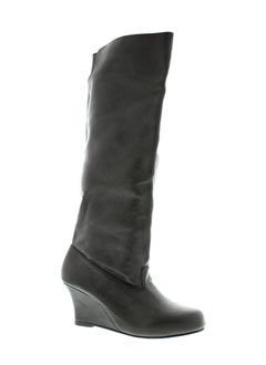CHARLIE JOE Chaussure NOIR Botte FEMME (photo)