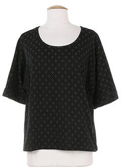 DES PETITS HAUTS T-shirt / Top NOIR Manche courte FEMME (photo)