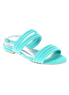 MELLOW YELLOW Chaussure BLEU Sandales/Nu pied FEMME (photo)