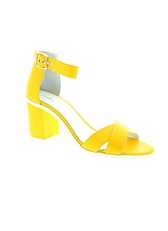 MELLOW YELLOW Chaussure JAUNE Sandales/Nu pied FEMME (photo)