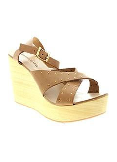 GERARD DAREL Chaussure MARRON Sandales/Nu pied FEMME (photo)