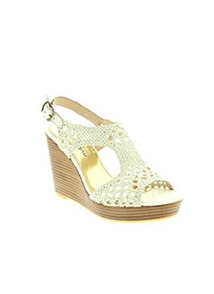 MELLOW YELLOW Chaussure BLANC Sandales/Nu pied FEMME (photo)