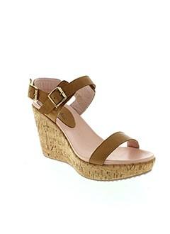 MELLOW YELLOW Chaussure MARRON Sandales/Nu pied FEMME (photo)