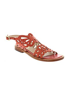 MELLOW YELLOW Chaussure ORANGE Sandales/Nu pied FEMME (photo)