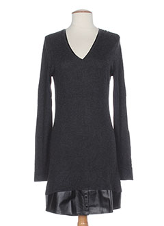 HOTEL PARTICULIER Robe GRIS Robe pull FEMME (photo)