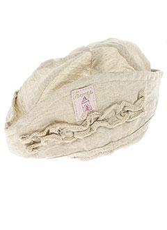 3 POMMES Accessoire BEIGE Chapeaux/Bonnet FILLE (photo)