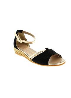 GAIMO ESPADRILLES Chaussure NOIR Sandales/Nu pied FEMME (photo)