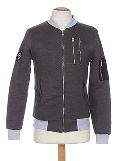 CELEBRYTEES Manteaux GRIS Blouson HOMME (photo)