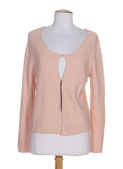 PHARD Gilet ORANGE Cardigan FEMME (photo)