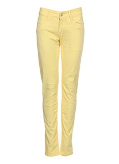 TIFFOSI Jean JAUNE Jean coupe slim FEMME (photo)