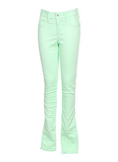 TIFFOSI Jean VERT Jean coupe slim FEMME (photo)