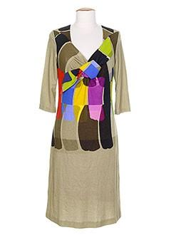 DIDIER PARAKIAN Robe BEIGE Robe longue FEMME (photo)