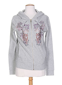 WHO'S WHO Gilet GRIS Cardigan FEMME (photo)