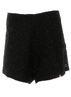 CHARLIE JOE Short / Bermuda NOIR Short FEMME (photo)
