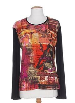 SAINT CHARLES T-shirt / Top ORANGE Manche longue FEMME (photo)