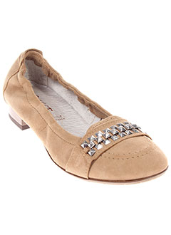 SWEET Chaussure BEIGE Mocassin FEMME (photo)