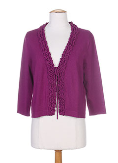 GERRY WEBER Gilet ROSE Cardigan FEMME (photo)