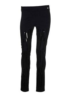 WHO'S WHO Pantalon NOIR Legging FEMME (photo)