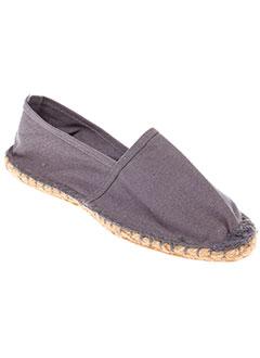 RESERVOIR SHOES Chaussure GRIS Espadrille HOMME (photo)