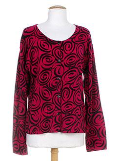 THE MASAI CLOTHING COMPANY Gilet ROUGE Cardigan FEMME (photo)