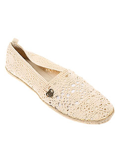 BANANA MOON Chaussure BEIGE Espadrille FEMME (photo)