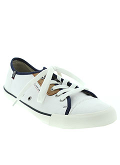 PEPE JEANS Chaussure BLANC Basket HOMME (photo)