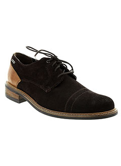PEPE JEANS Chaussure MARRON Derby HOMME (photo)