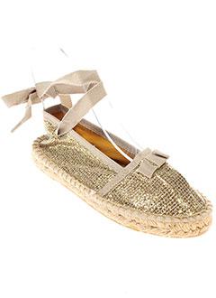 PARE GABIA Chaussure JAUNE Espadrille FILLE (photo)