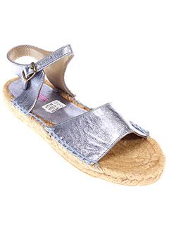 PARE GABIA Chaussure BLEU Espadrille FILLE (photo)