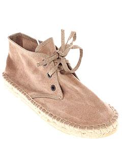 PARE GABIA Chaussure BEIGE Espadrille FILLE (photo)