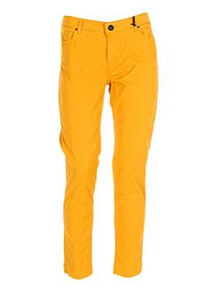 SINEQUANONE Pantalon JAUNE Pantalon décontracté FEMME (photo)