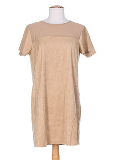 TIFFOSI Robe BEIGE Robe mi-longue FEMME (photo)