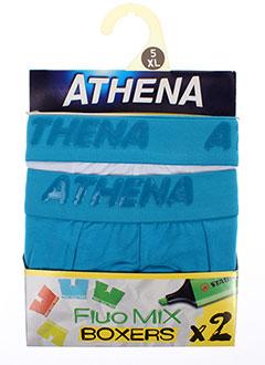 ATHENA Lingerie BLEU Shortys/Boxer HOMME (photo)