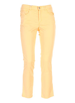 BRUNO SAINT HILAIRE Pantalon ORANGE Pantalon décontracté FEMME (photo)