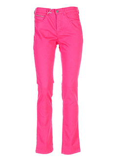 BRUNO SAINT HILAIRE Pantalon ROSE Pantalon décontracté FEMME (photo)