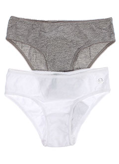 BENETTON Lingerie GRIS Slips/Culotte FILLE (photo)