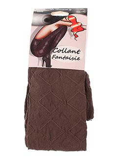 LAUVE Lingerie MARRON Bas/Collant FEMME (photo)