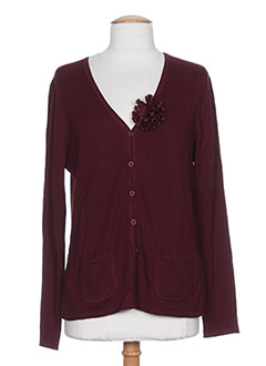 GERRY WEBER Gilet ROUGE Cardigan FEMME (photo)