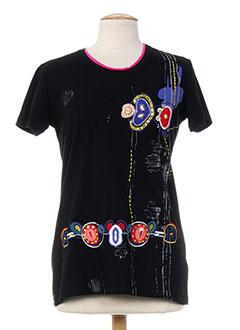 S.QUISE T-shirt / Top NOIR Manche courte FEMME (photo)