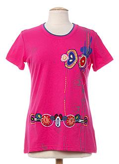 S.QUISE T-shirt / Top ROSE Manche courte FEMME (photo)