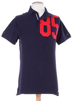 TOMMY HILFIGER T-shirt / Top BLEU Polo HOMME (photo)