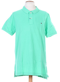 TOMMY HILFIGER T-shirt / Top VERT Polo HOMME (photo)