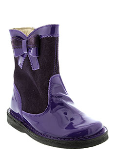 BARRITOS Chaussure VIOLET Botte FILLE (photo)