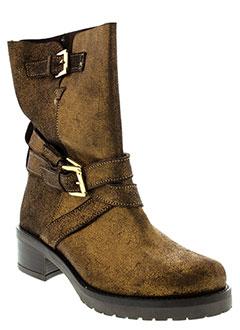 MELLOW YELLOW Chaussure MARRON Boot FEMME (photo)