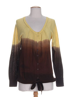 ROXY GIRL Gilet MARRON Cardigan FEMME (photo)
