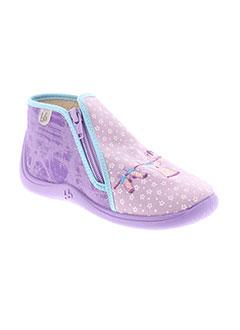 BABYBOTTE Chaussure VIOLET Pantoufle FILLE (photo)