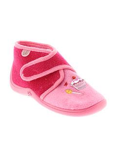 BABYBOTTE Chaussure ROSE Pantoufle FILLE (photo)